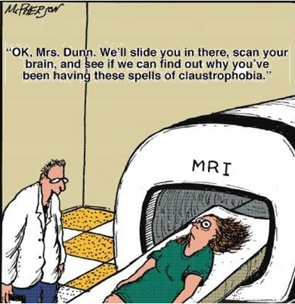 MRI Scans and Claustrophobia